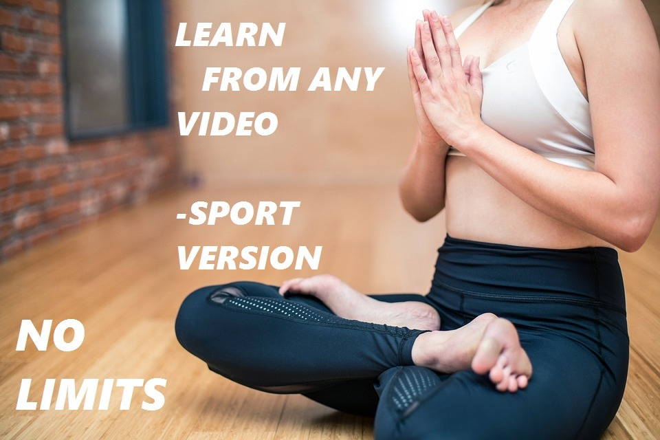 Learn From Any Video Sport Version (117x)