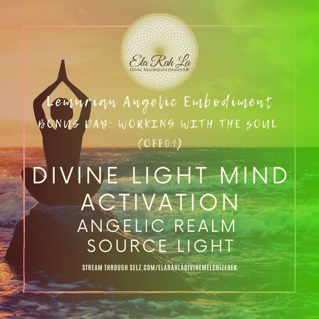 Divine Light Mind Activation Angelic Realm Source Light (Lemurian Angelic Embodiment Hawaii 2020)
