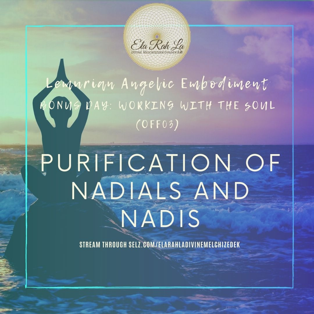 Purification of Nadials and Nadis Recalibration Method (Lemurian Angelic Embodiemnt Hawaii 2020)