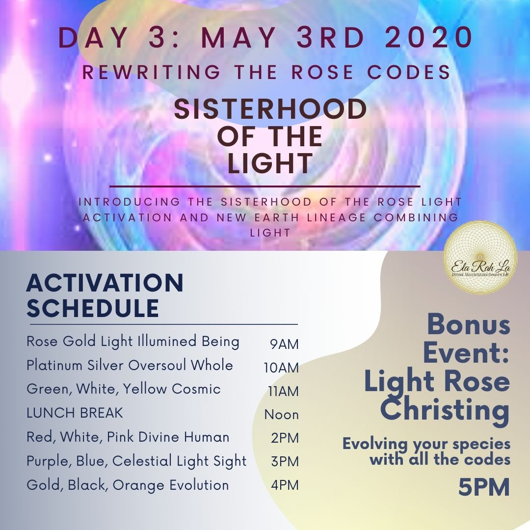 Sisterhood of the Light - Day Three: Rewriting the Rose Codes [Streaming Options]