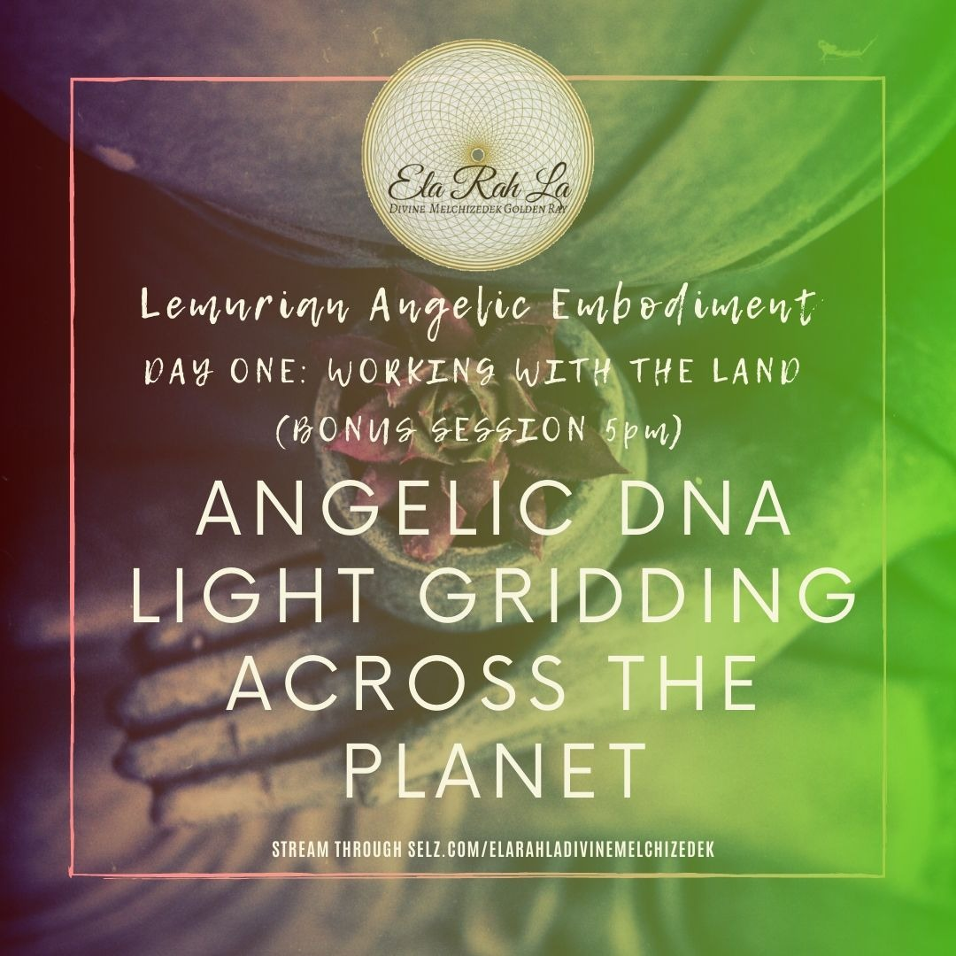 Angelic DNA Light Gridding Across the Planet (Lemurian Angelic Embodiment Hawaii 2020)