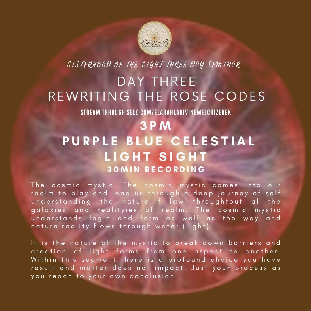 [Purple Blue] Celestial Light Sight (Sisterhood of the Light Conference 2020)