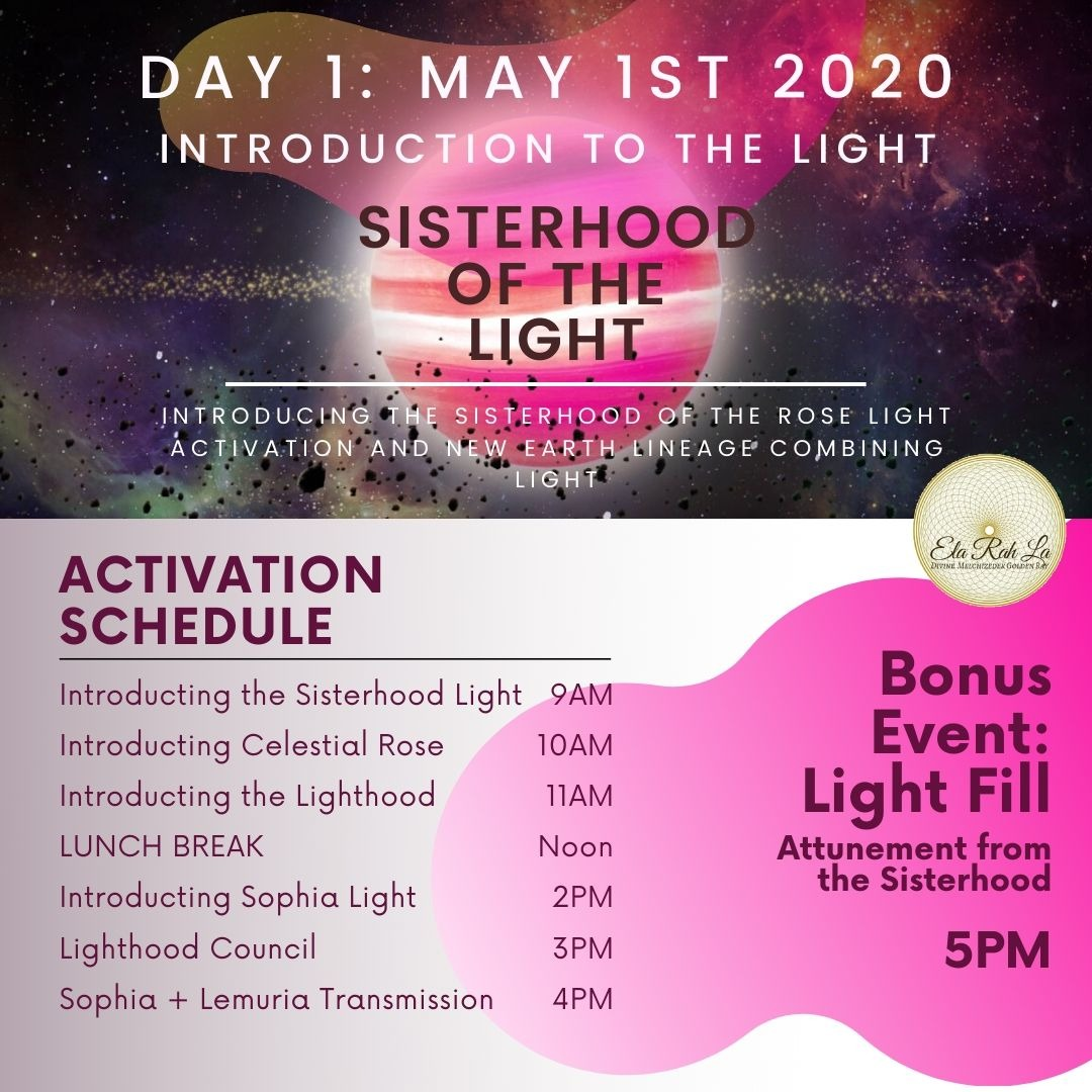 Sisterhood of the Light - Day One: Introduction to the Light [Streaming Option]