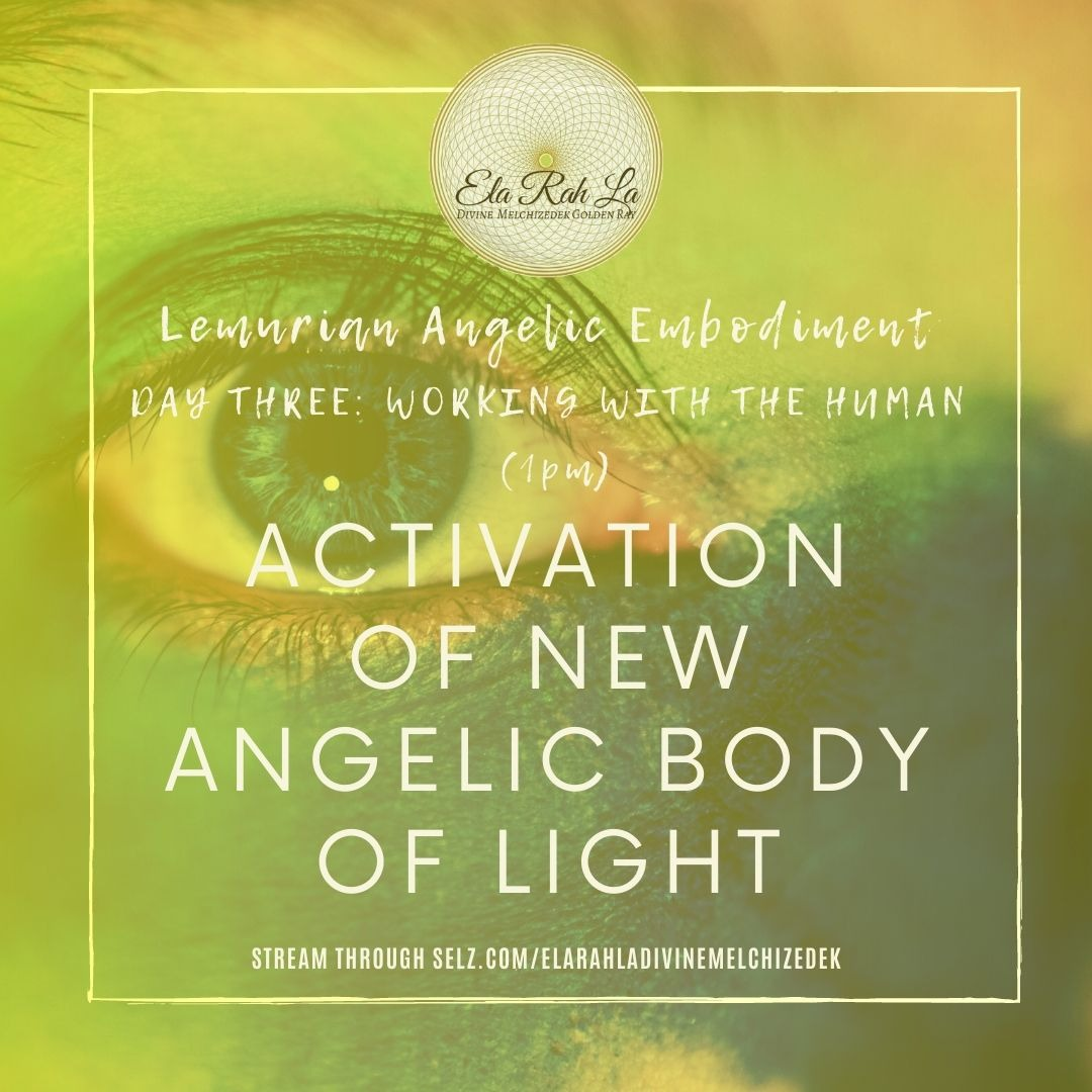 Activation of New Angelic Body of Light (Lemurian Angelic Embodiment Hawaii 2020)