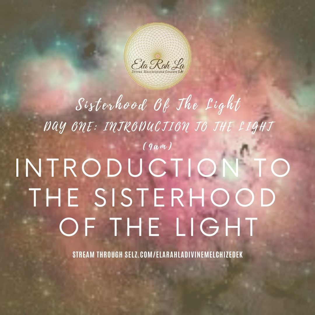 Introduction to the Sisterhood of the Light (Sisterhood of the Light Conference 2020)