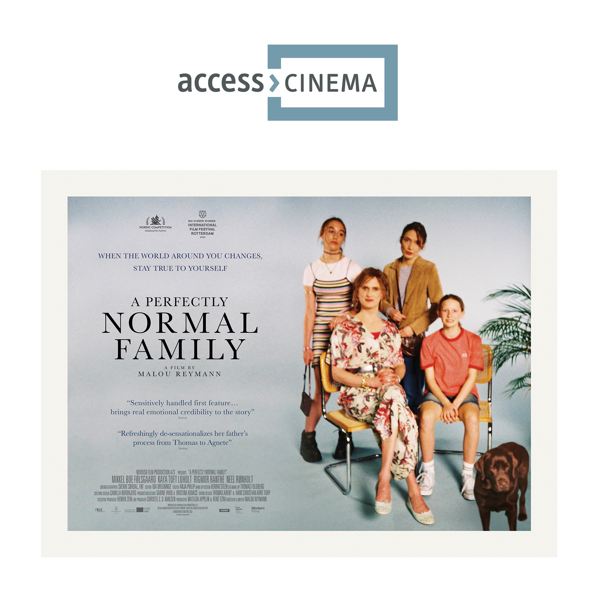 A Perfectly Normal Family at access>CINEMA