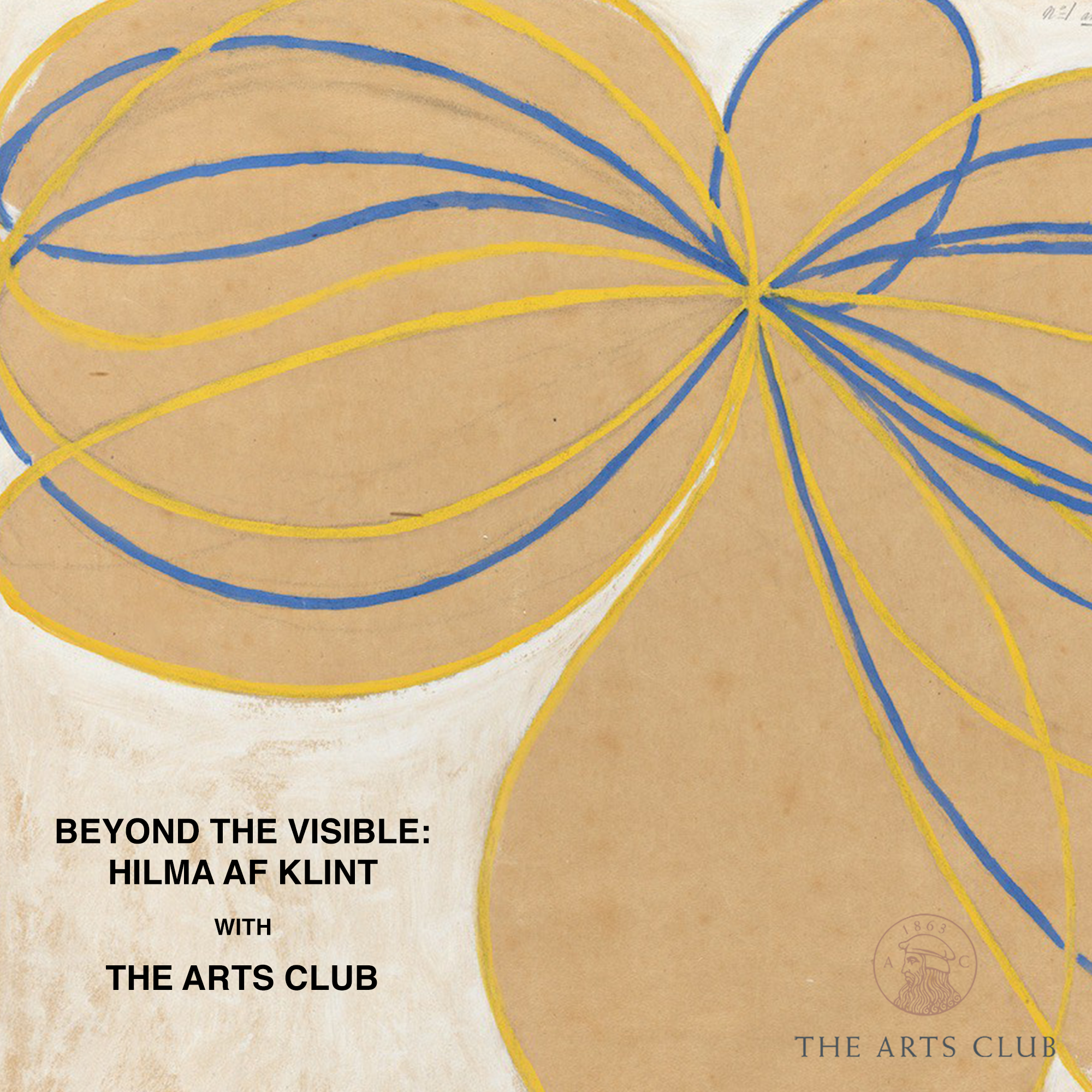 Beyond the Visible: Hilma af Klint with The Arts Club