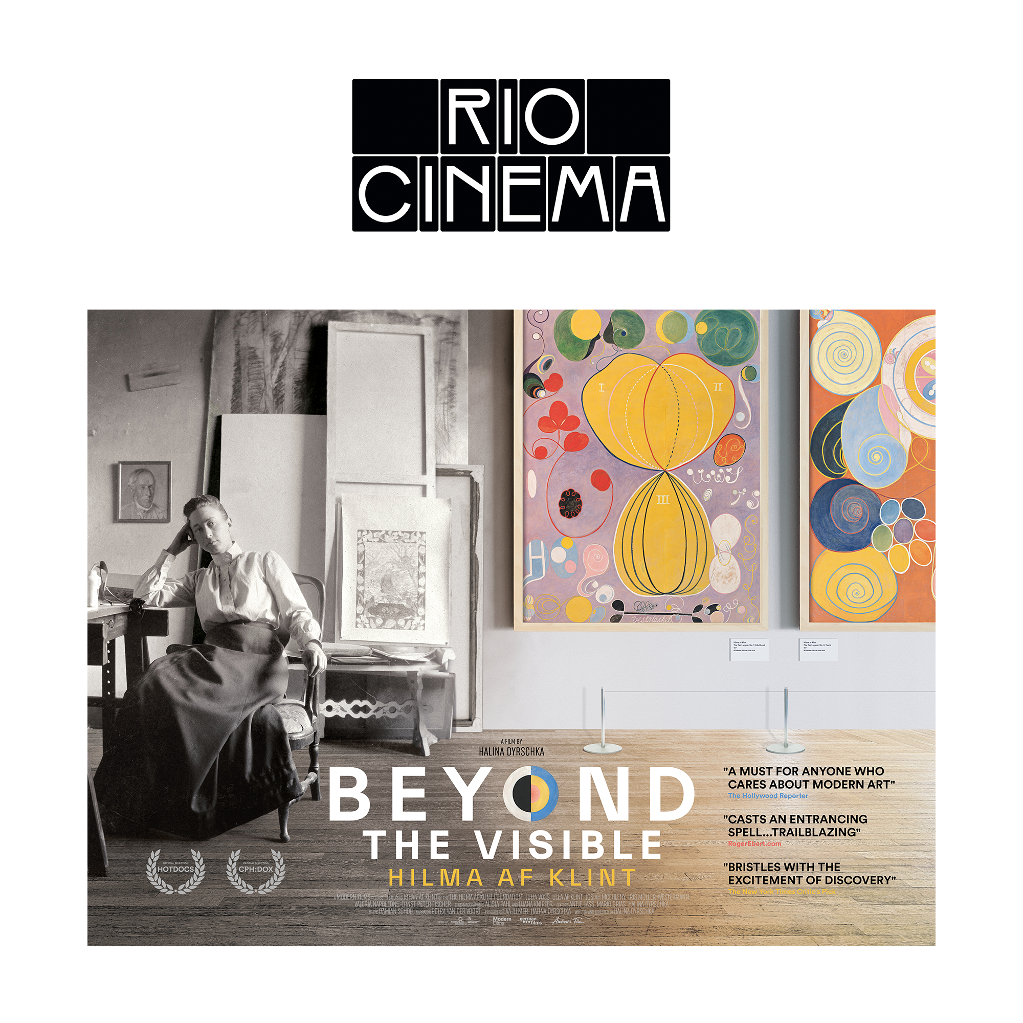 Beyond the Visible: Hilma af Klint at Rio Cinema