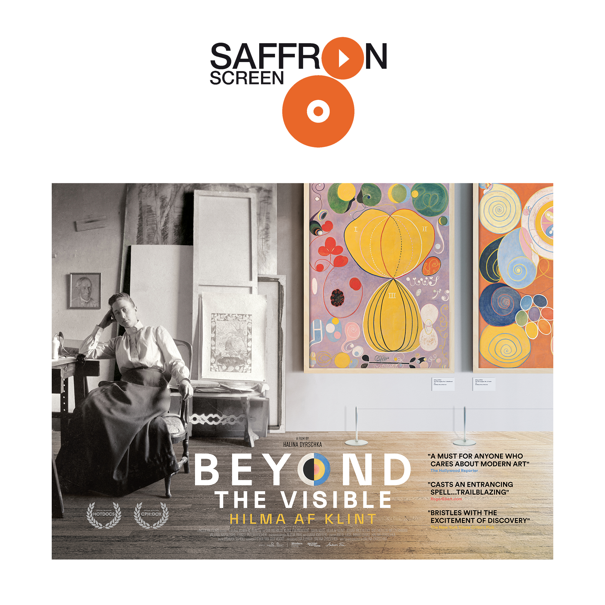 Beyond the Visible: Hilma af Klint at Saffron Screen