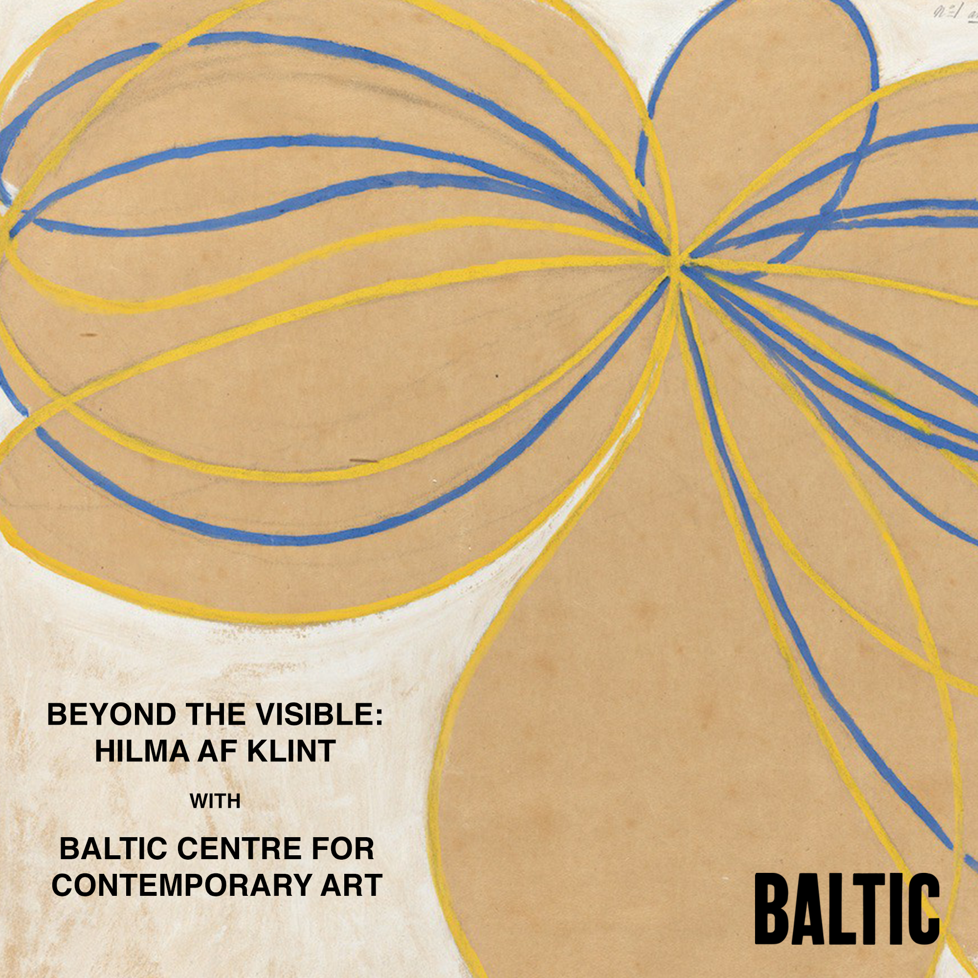 Beyond the Visible: Hilma af Klint with Baltic Centre for Contemporary Art