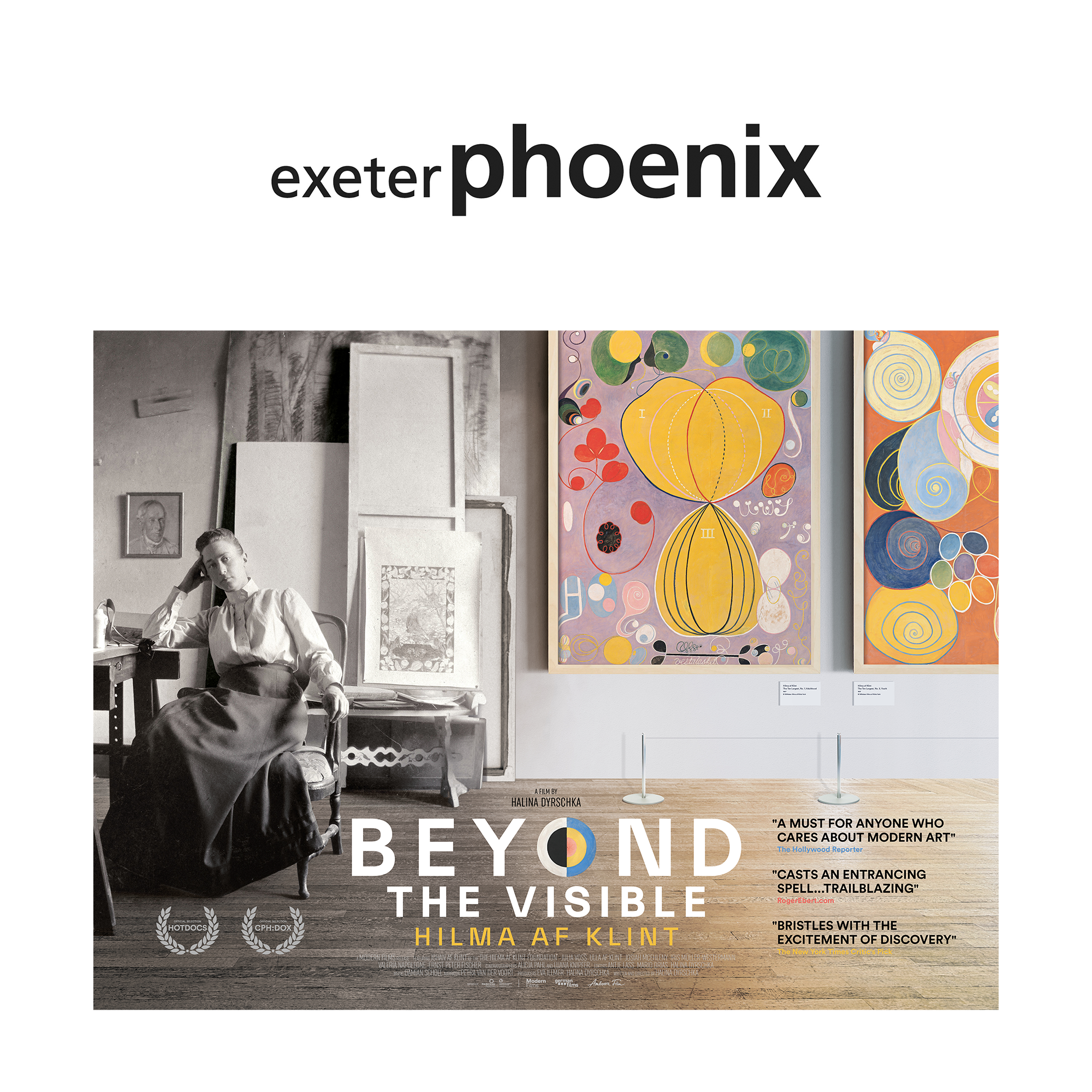 Beyond the Visible: Hilma af Klint at Exeter Phoenix