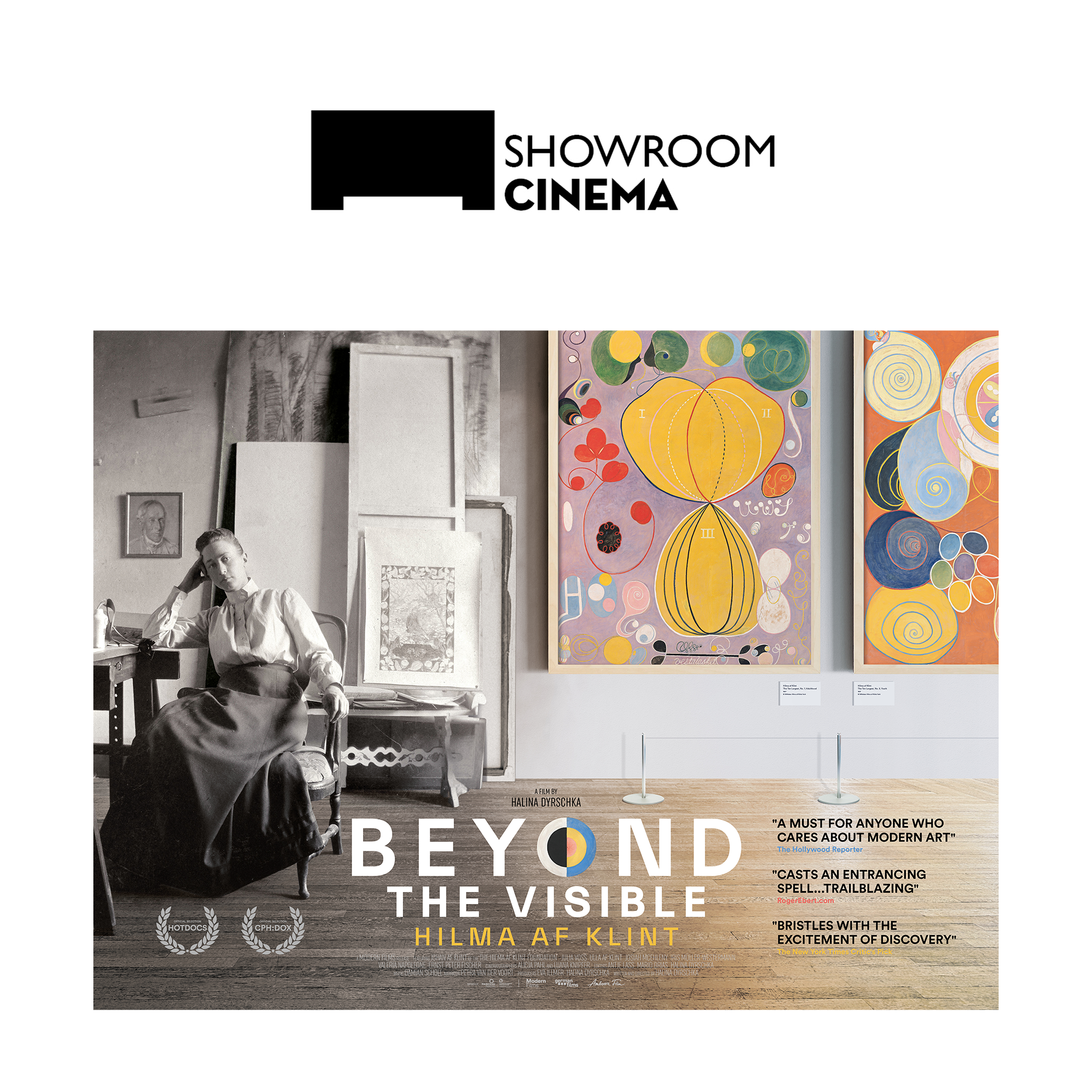 Beyond the Visible: Hilma af Klint at Showroom Cinema