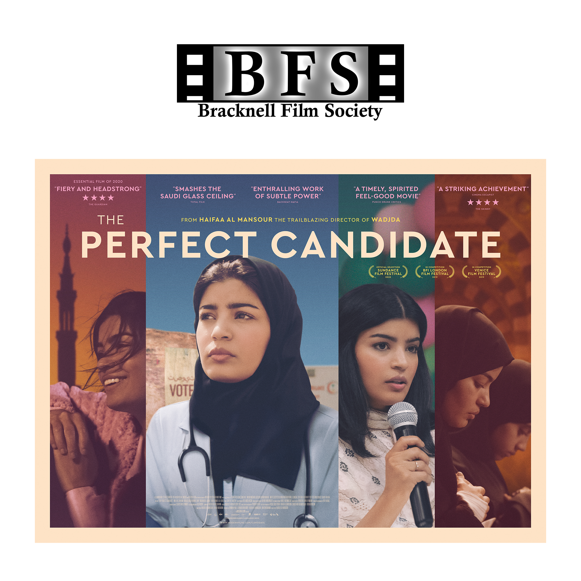The Perfect Candidate at Bracknell Film Society