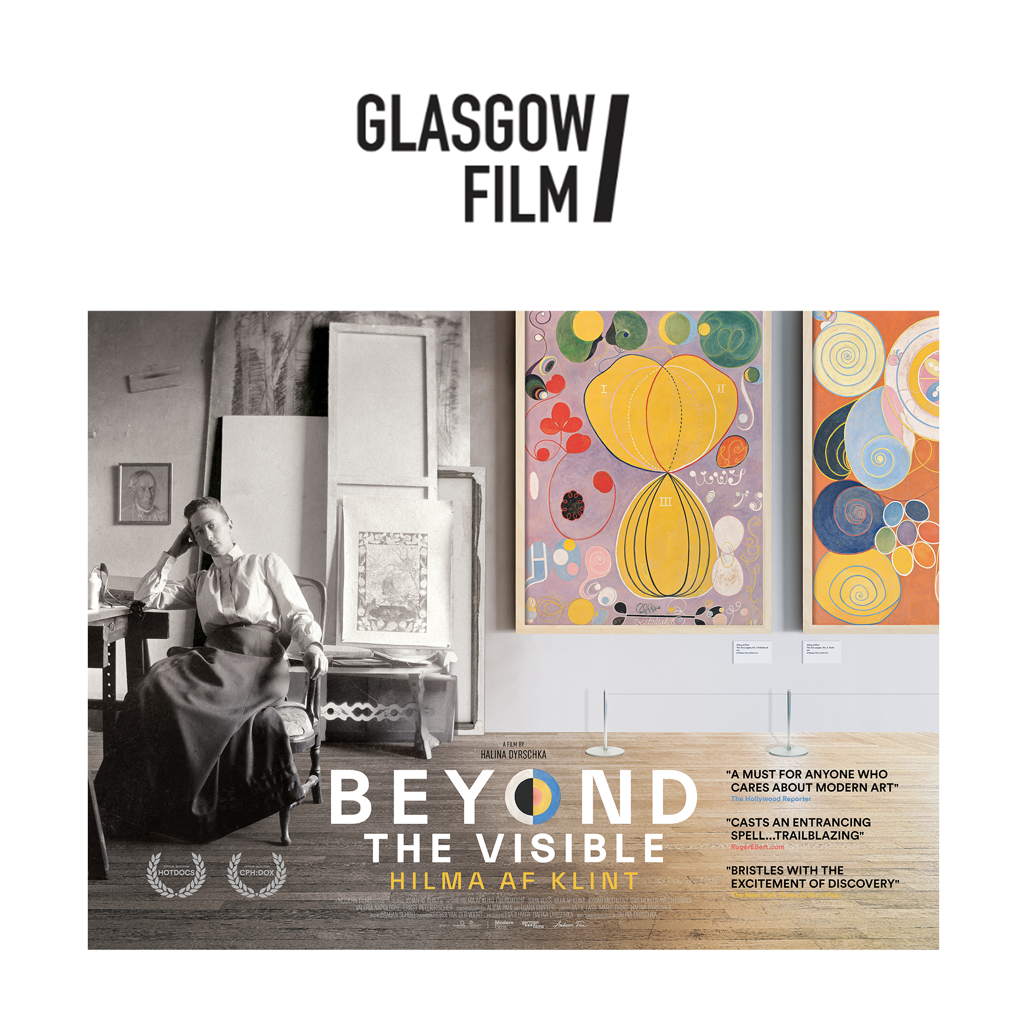 Beyond the Visible: Hilma af Klint at Glasgow Film Theatre