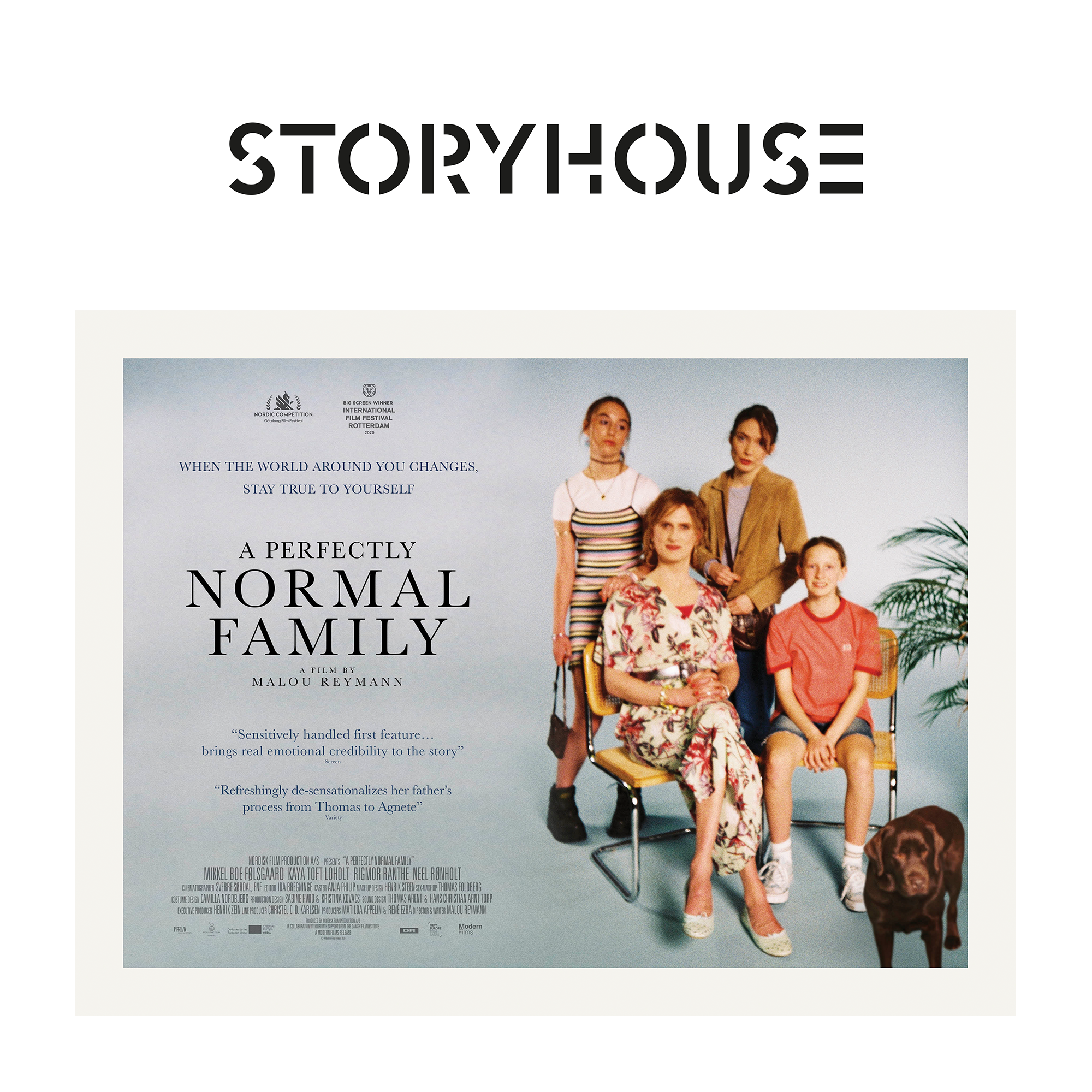 A Perfectly Normal Family at Storyhouse