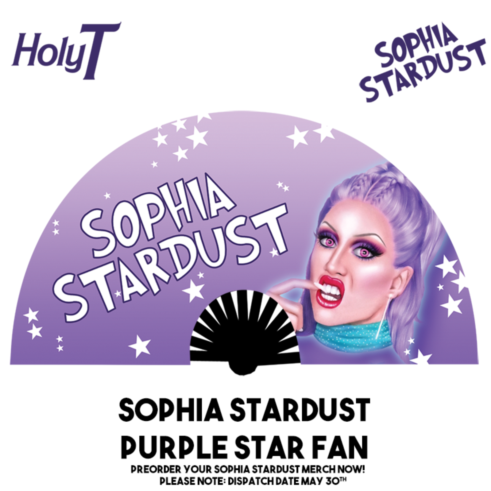 Sophia Stardust Large Fan