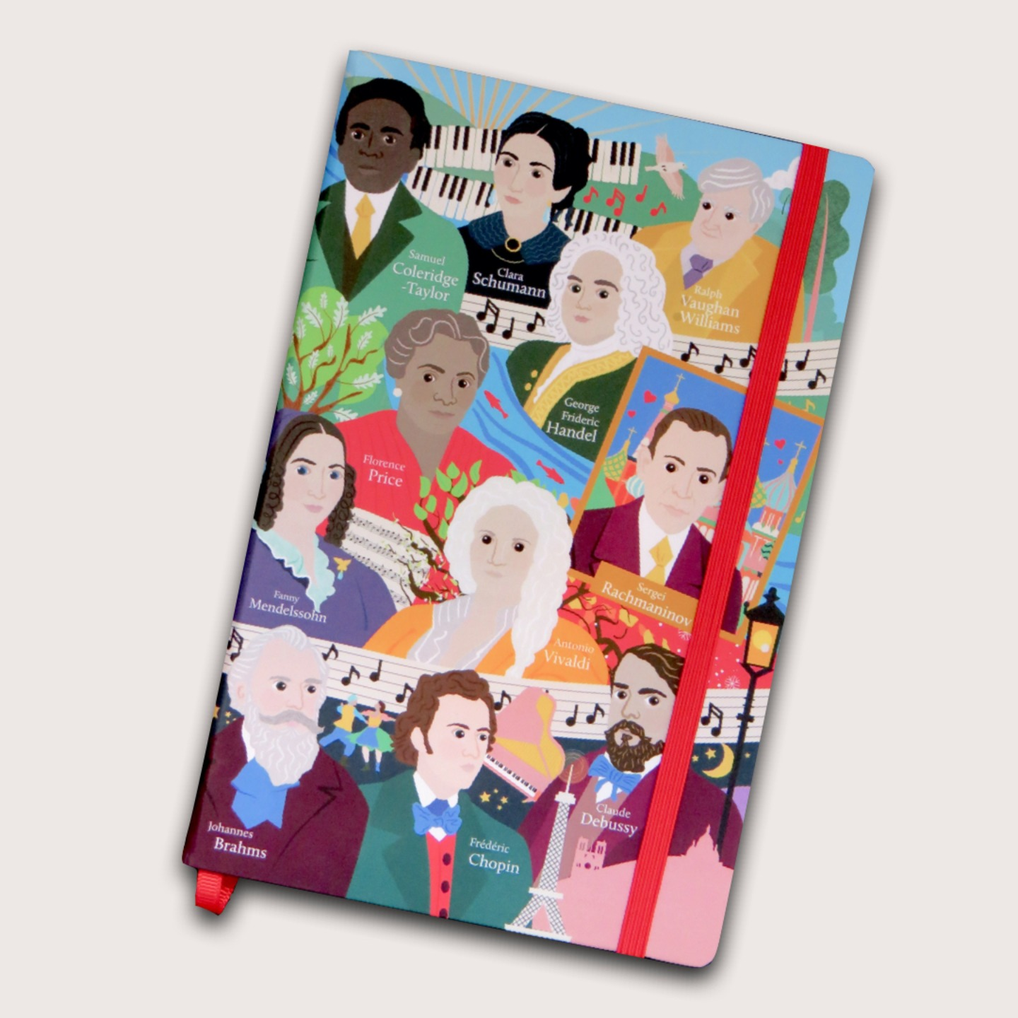 Great Composers Notebook