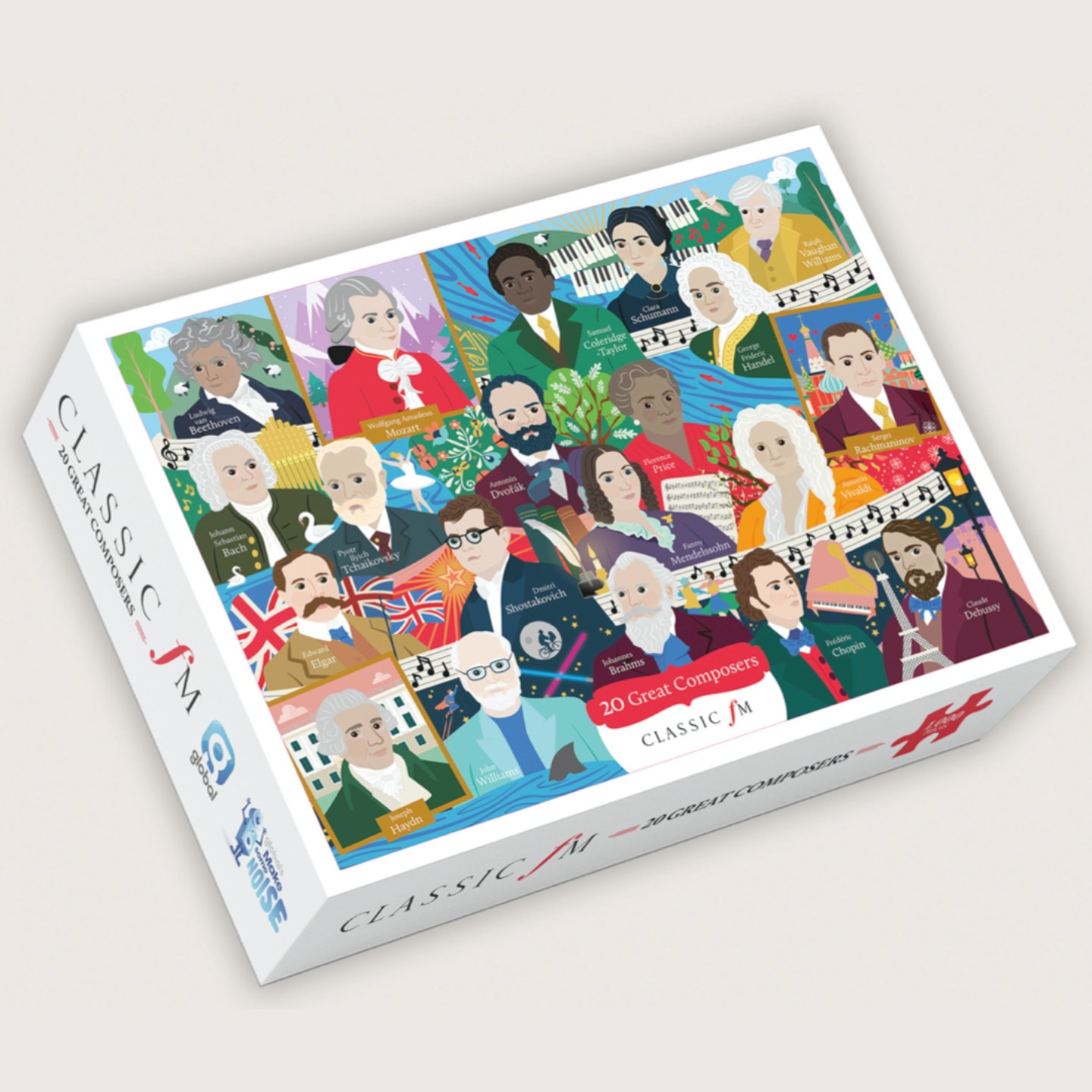 Great Composers Jigsaw