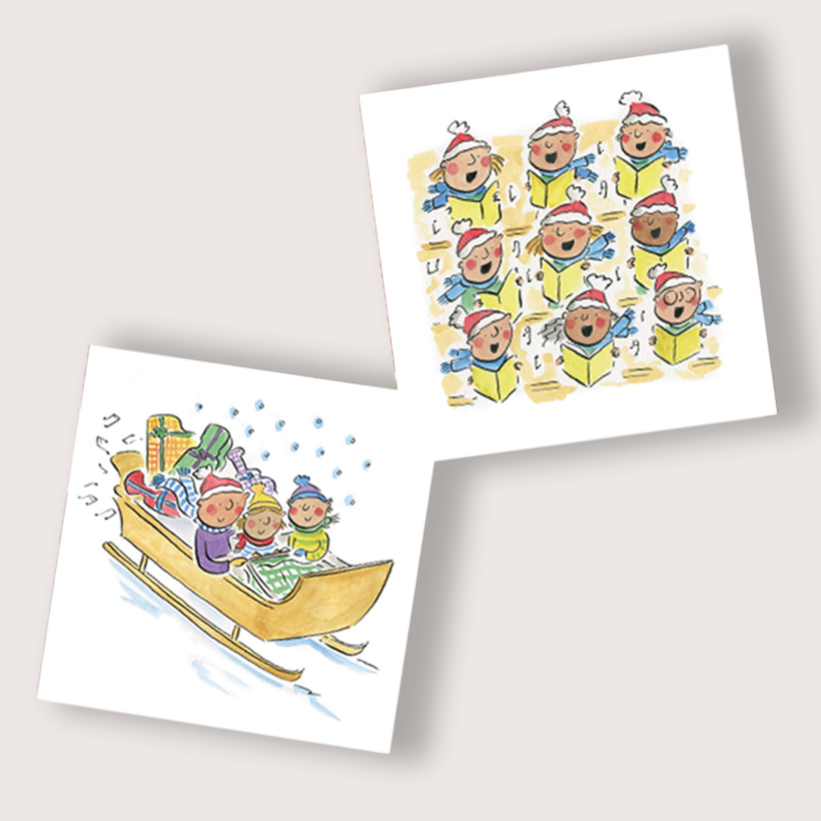 A Musical Sleigh Ride - Pack of 10 Christmas Cards