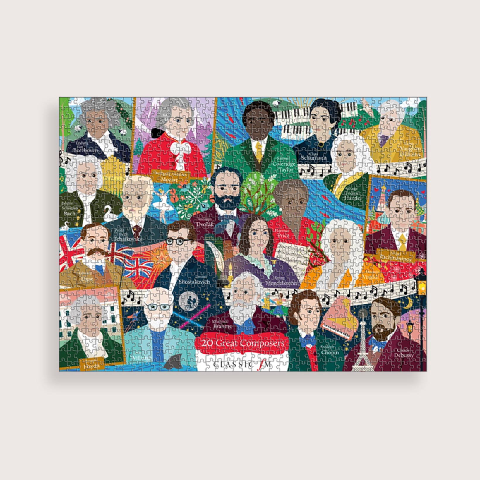 PRE-ORDER: Great Composers Jigsaw