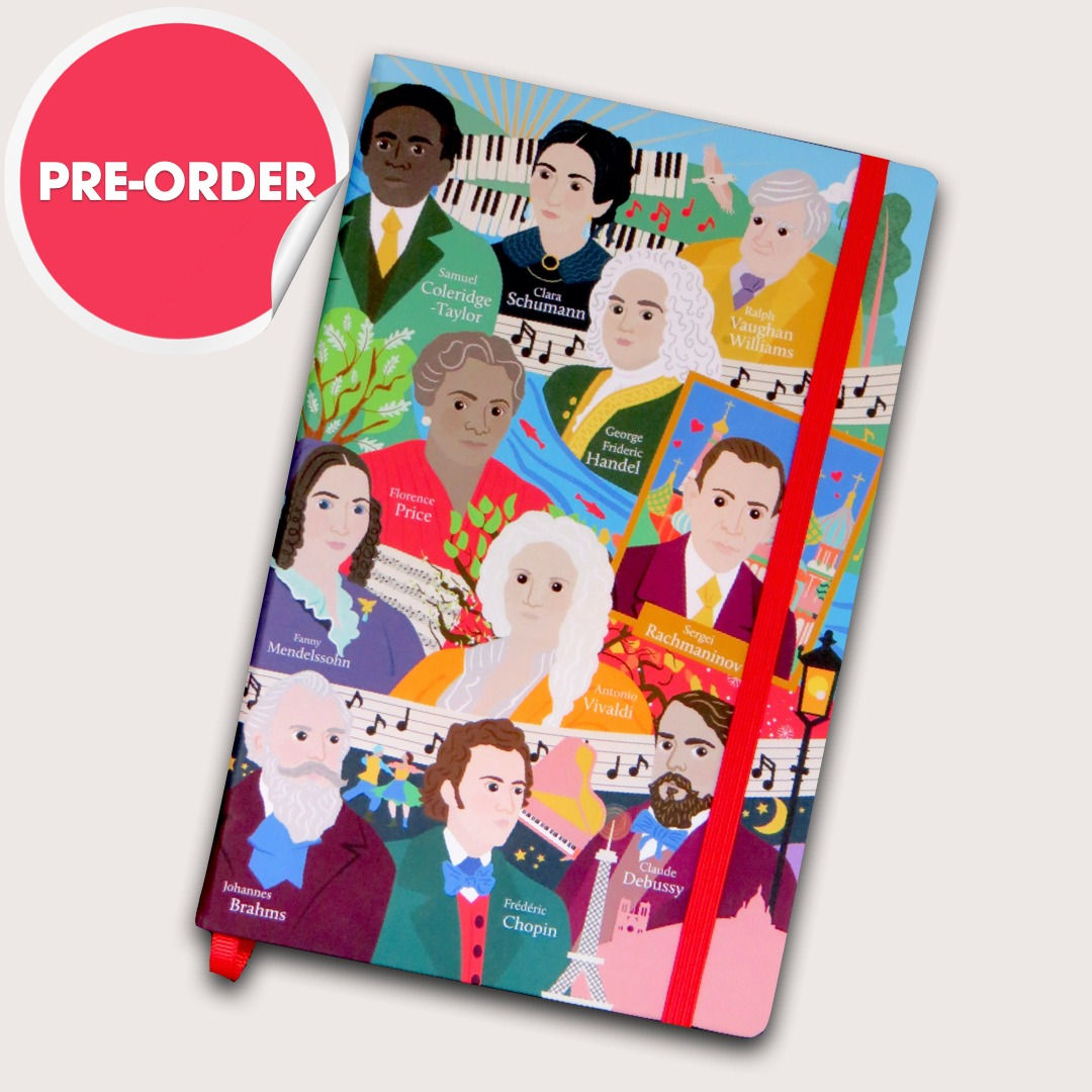 PRE-ORDER: Great Composers Notebook