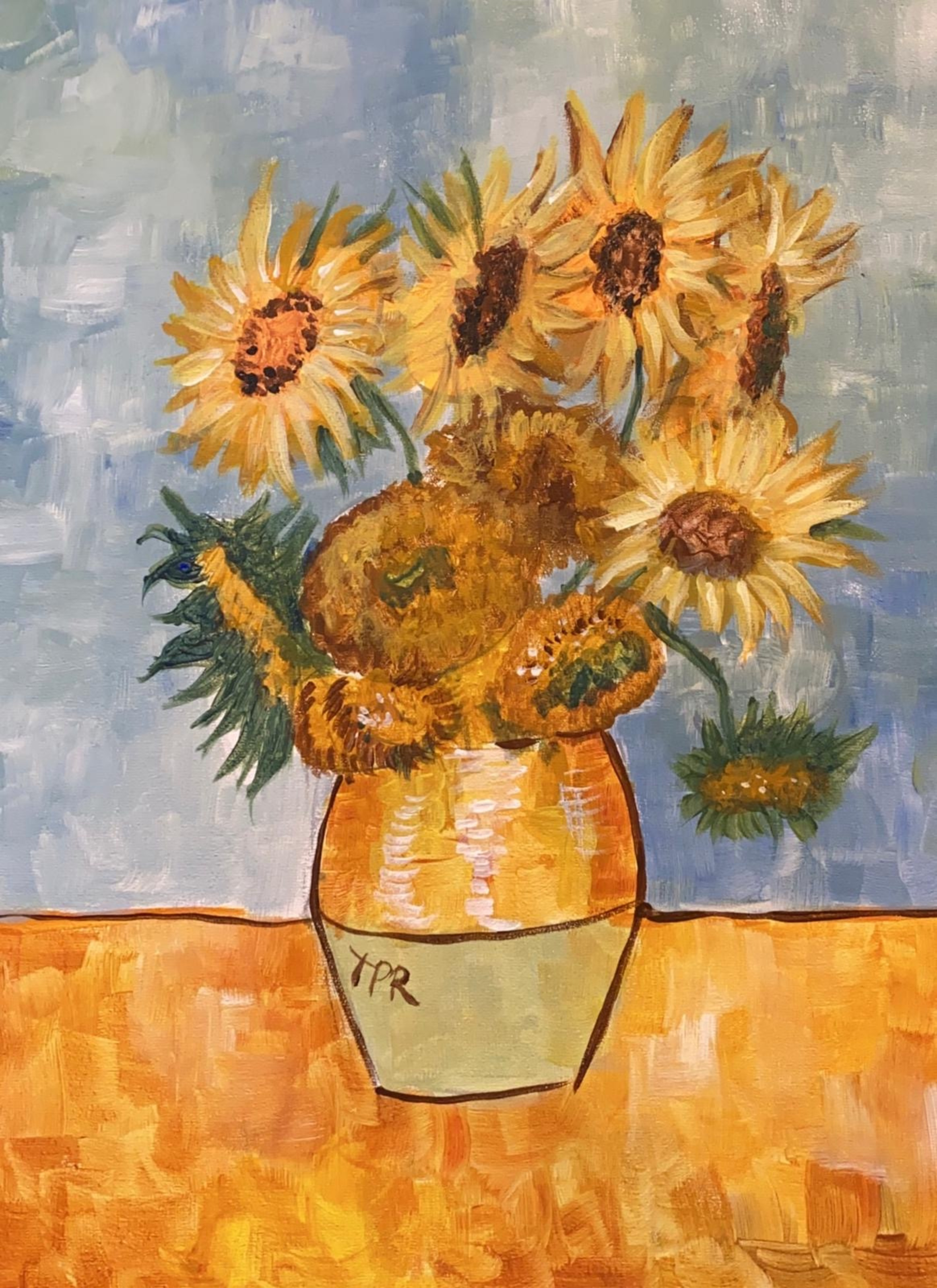 15/4/2020 Live Recording -Van Gogh's Sunflowers with Lindsay