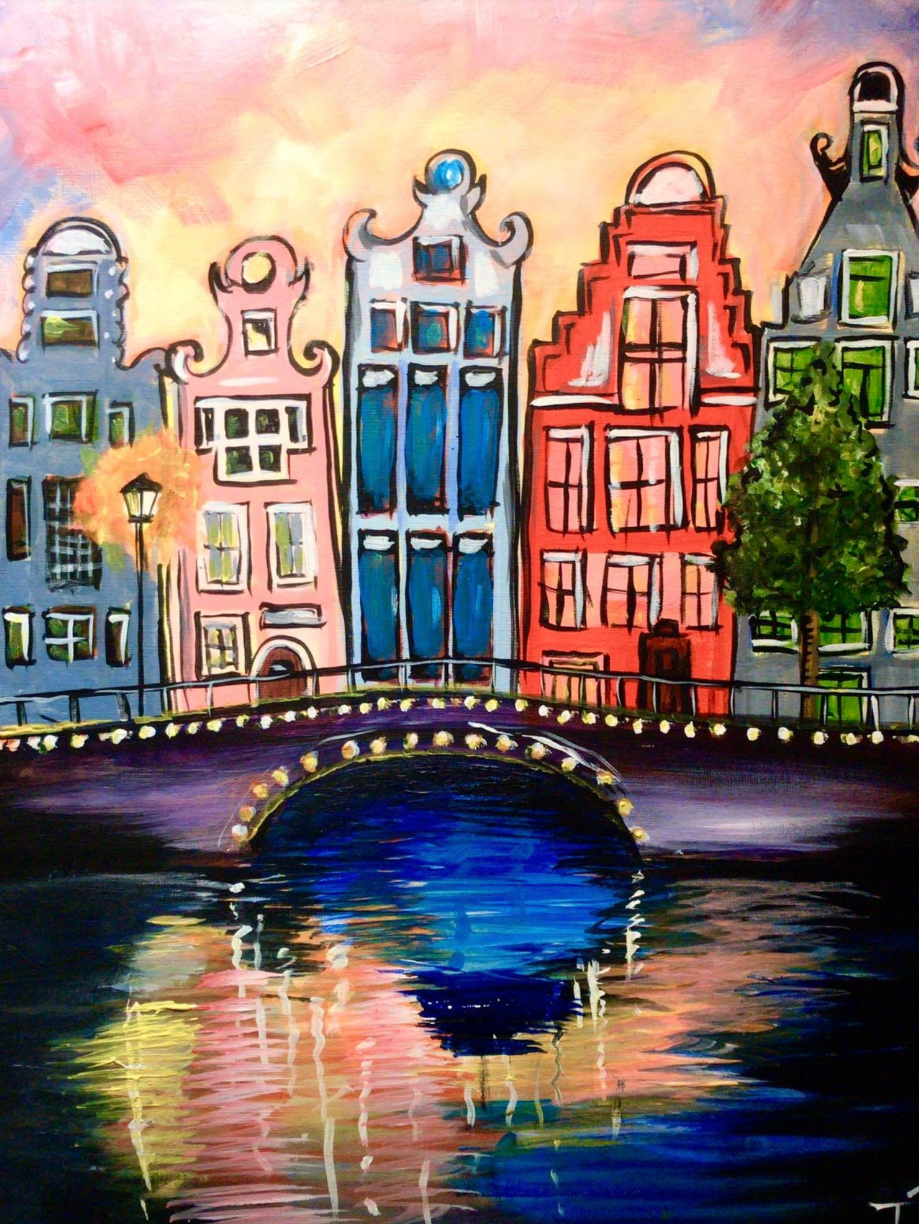 22/5/2020 Live Recording Paint & Sip - Amsterdam with Lindsay