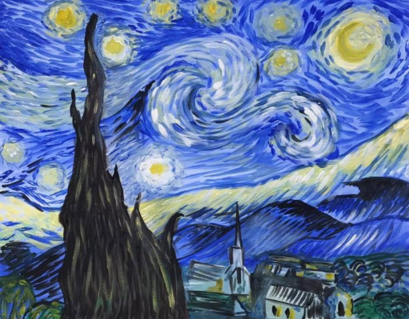 3/4/2020 Live Recording - Van Gogh's Starry Night with Lindsay