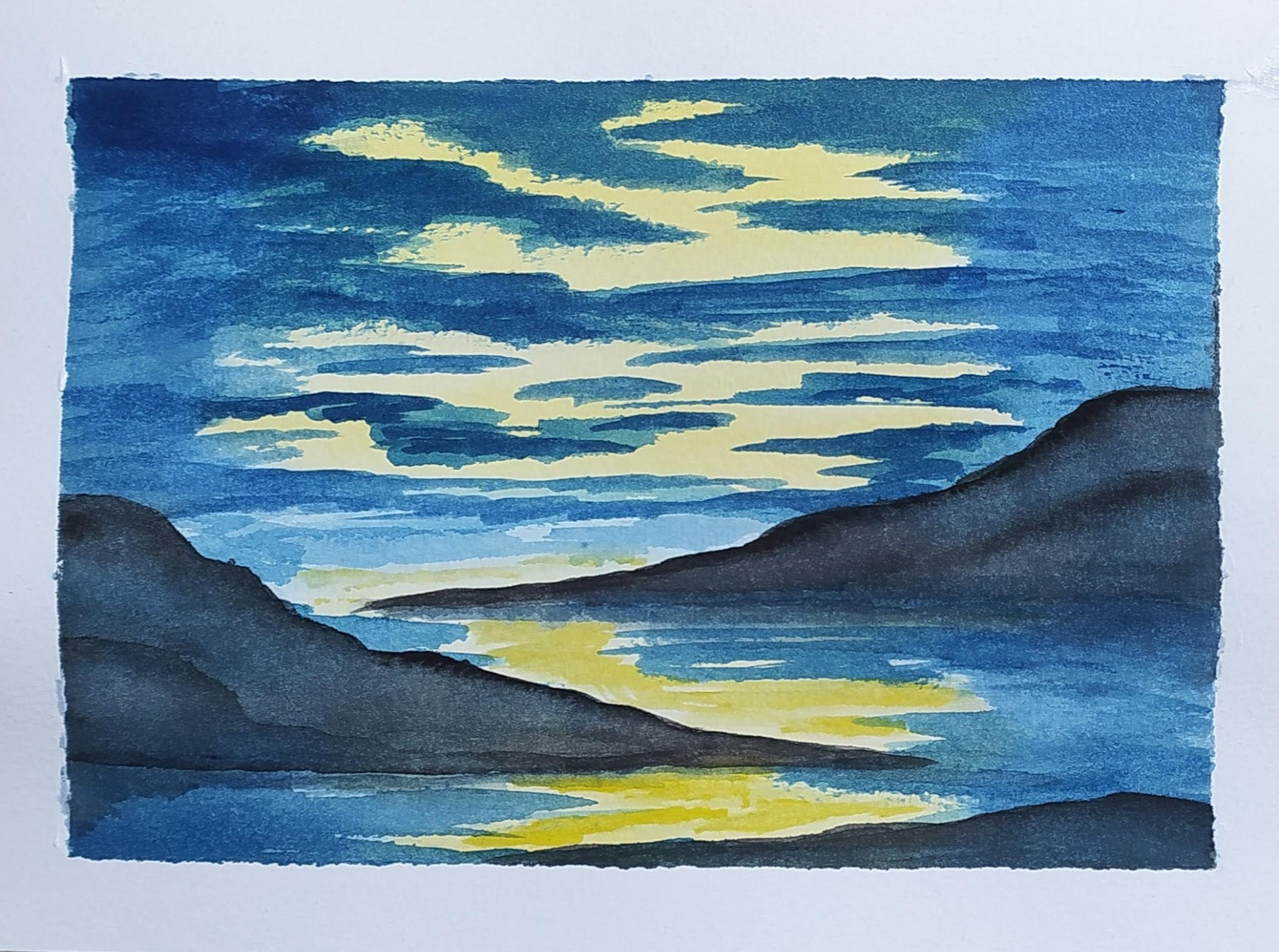 #182C 21st April 2021 7pm - Twiloch - nJoyArt ONLINE Watercolour with Lauriel