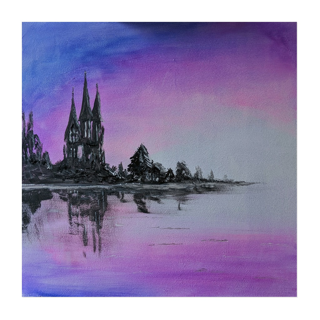 x #168 - 12th February 2021 7pm - Mystic Castle - nJoyArt ONLINE Painting Session