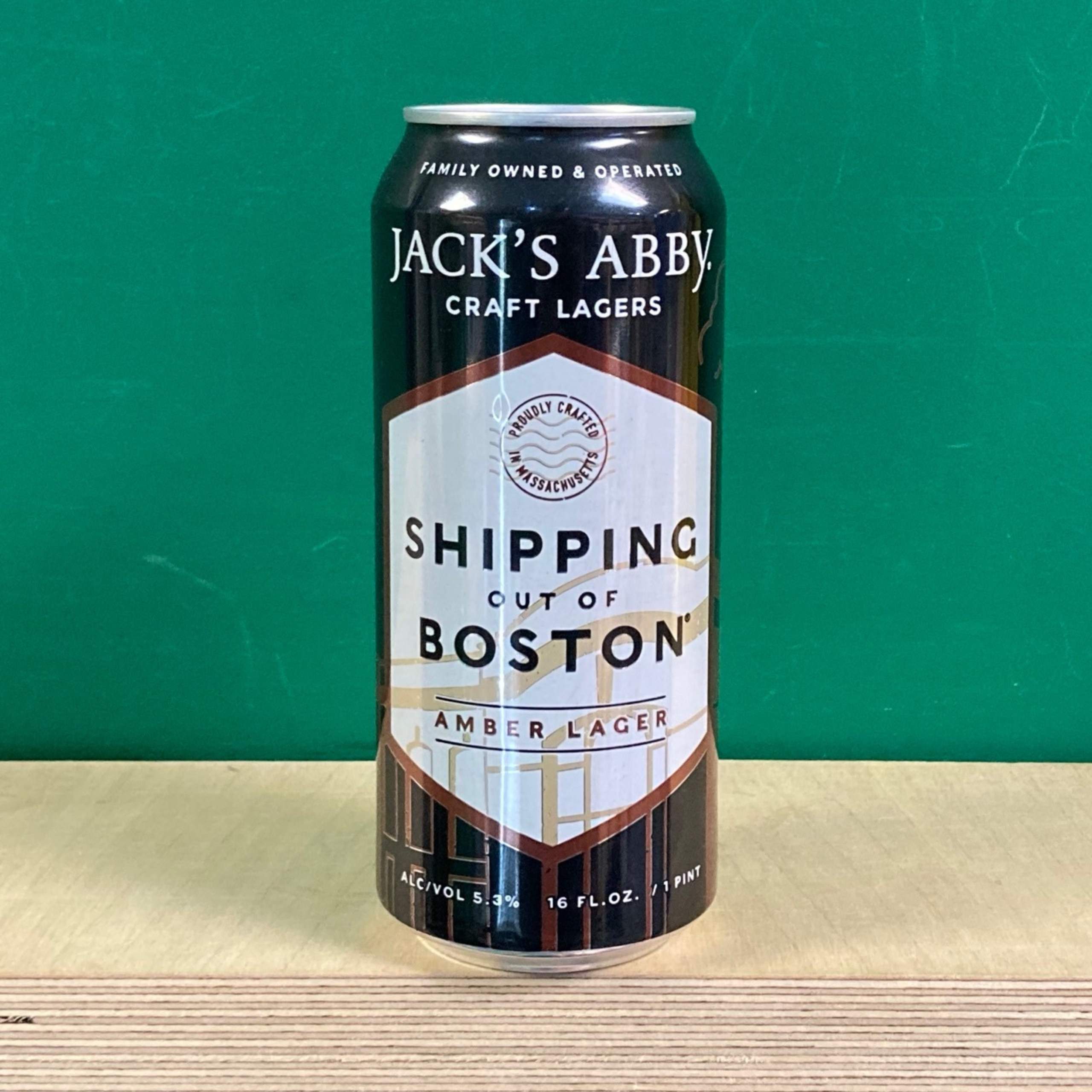 Jack's Abby Shipping Out Boston