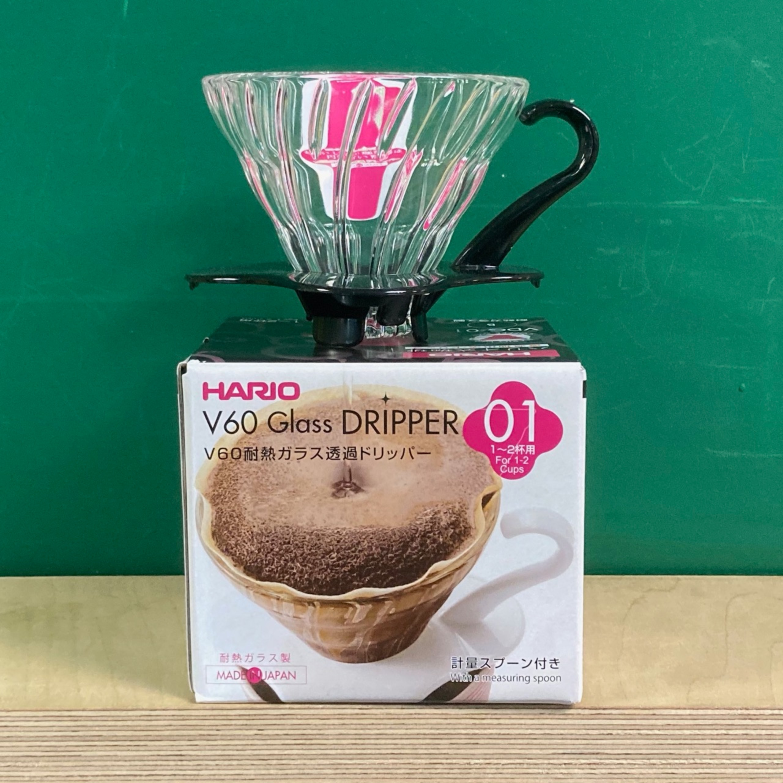 Hario Glass V60 Coffee Dripper