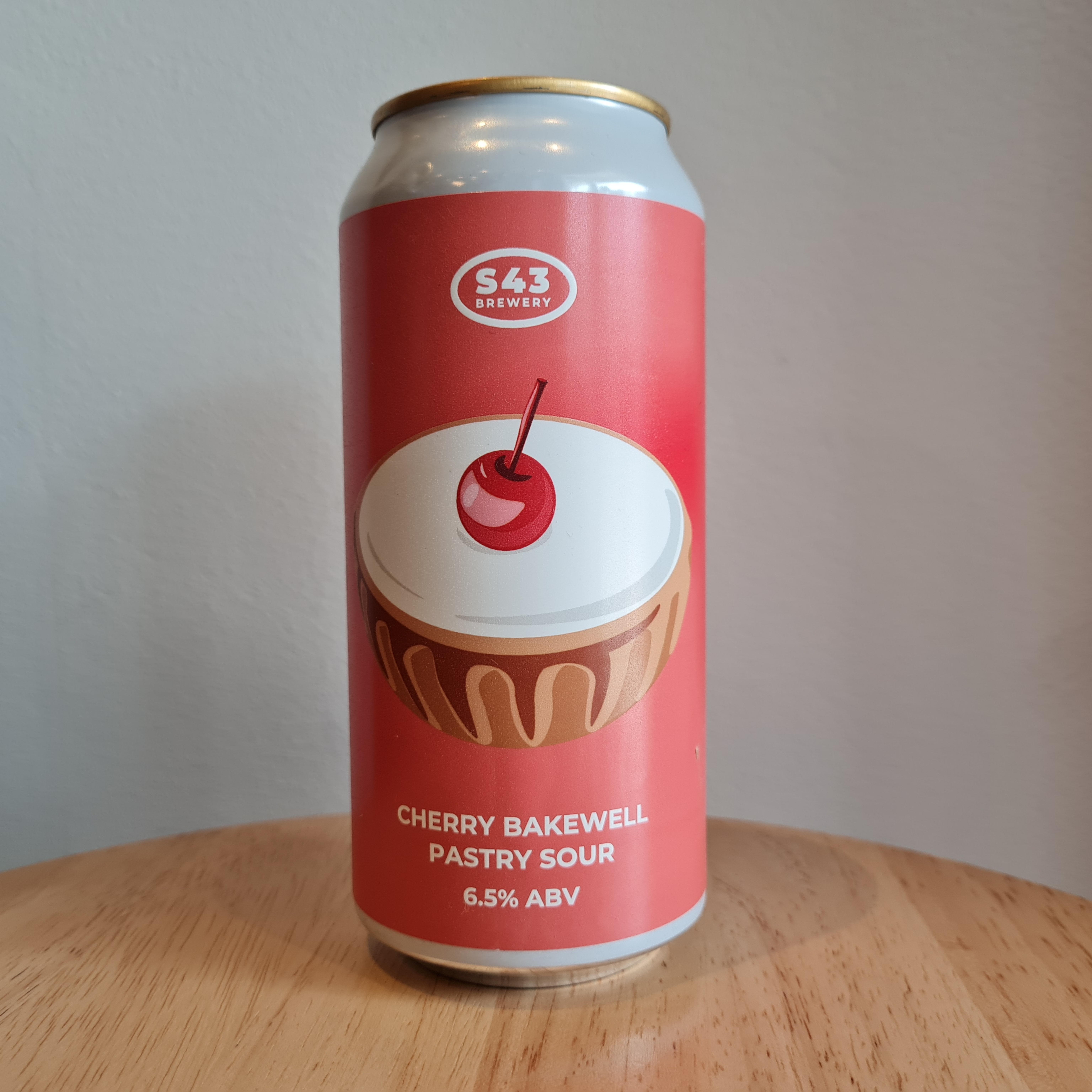 S43 Cherry Bakewell Pastry Sour