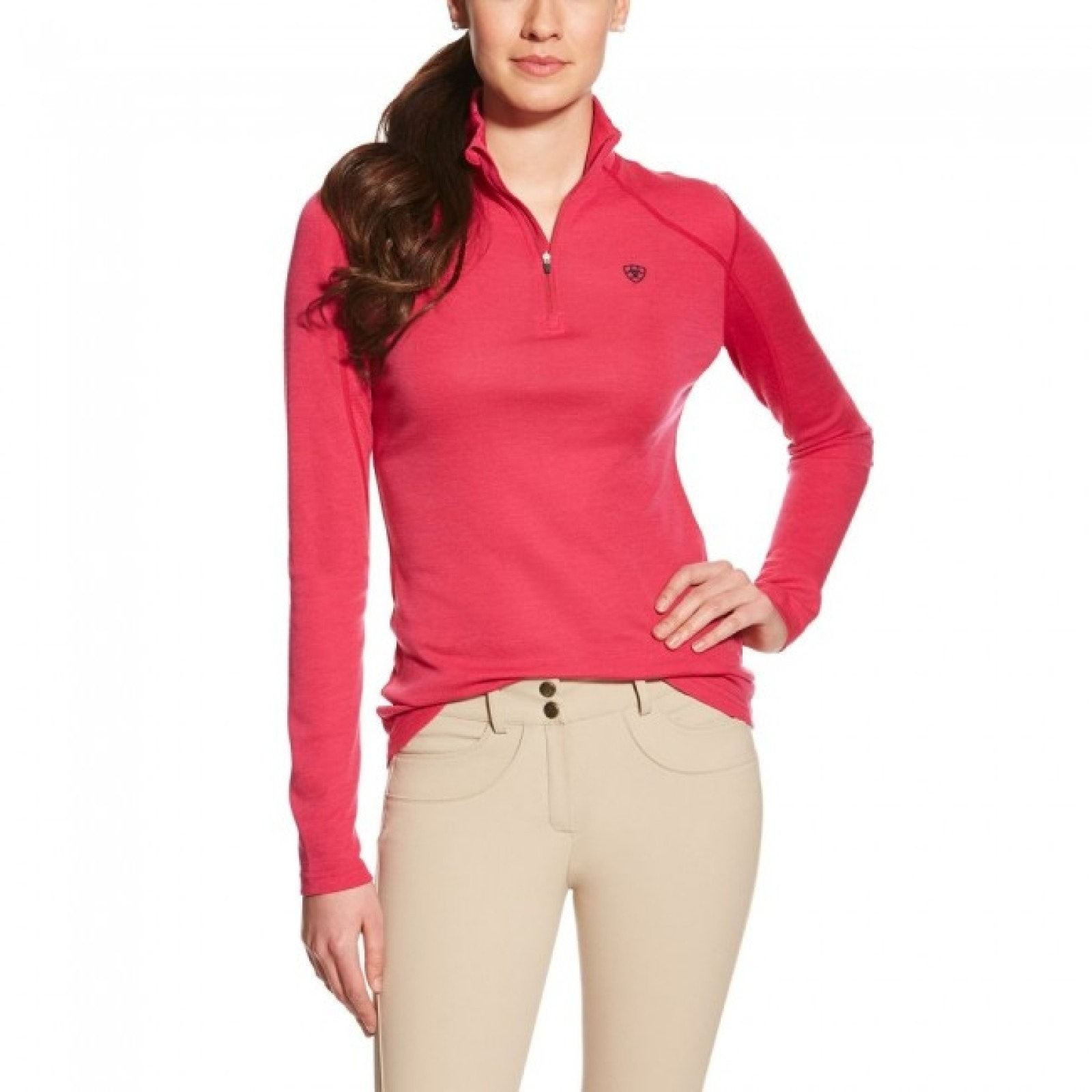 Ariat Candence 3/4 Zip Baselayer Top