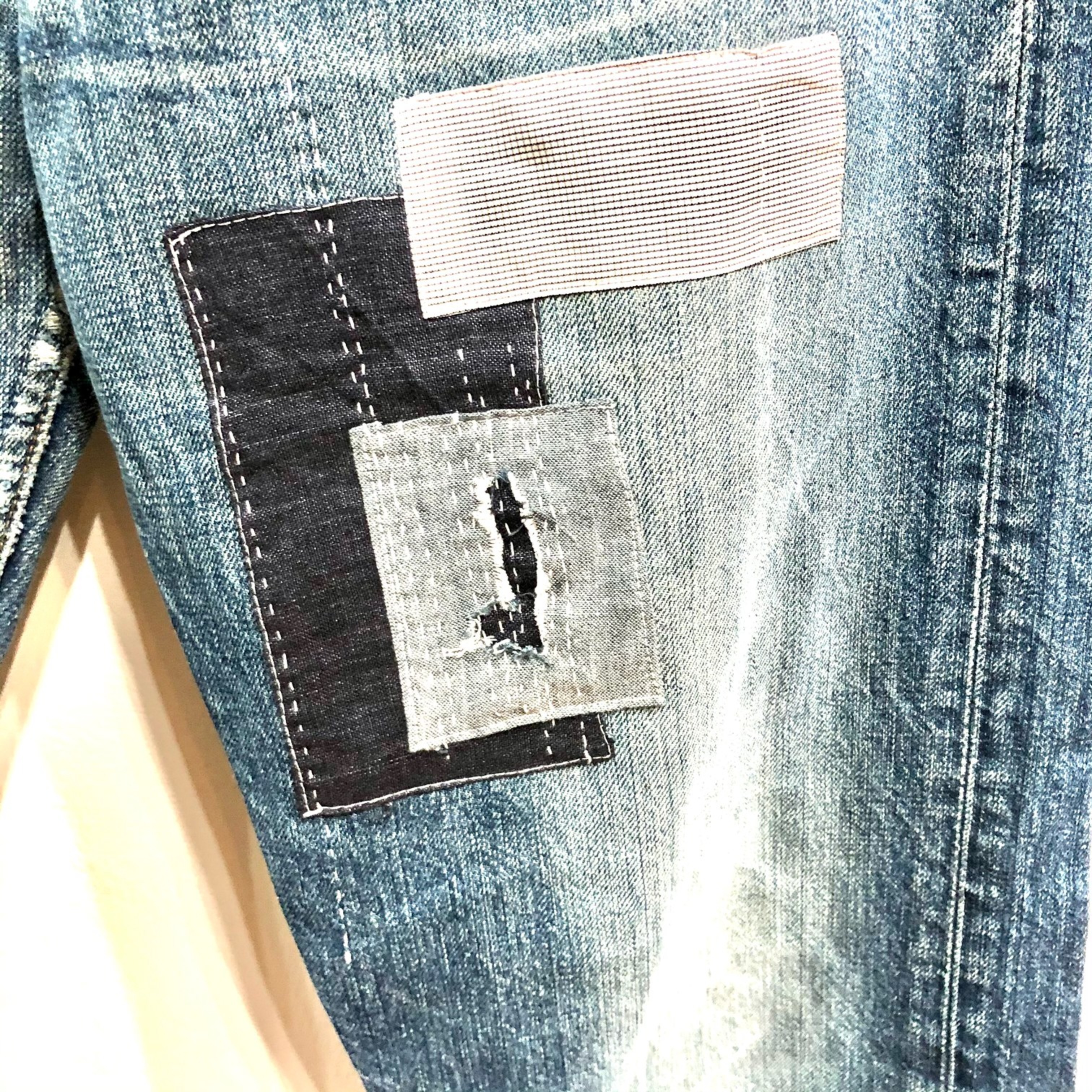 Levi's Patched 501's