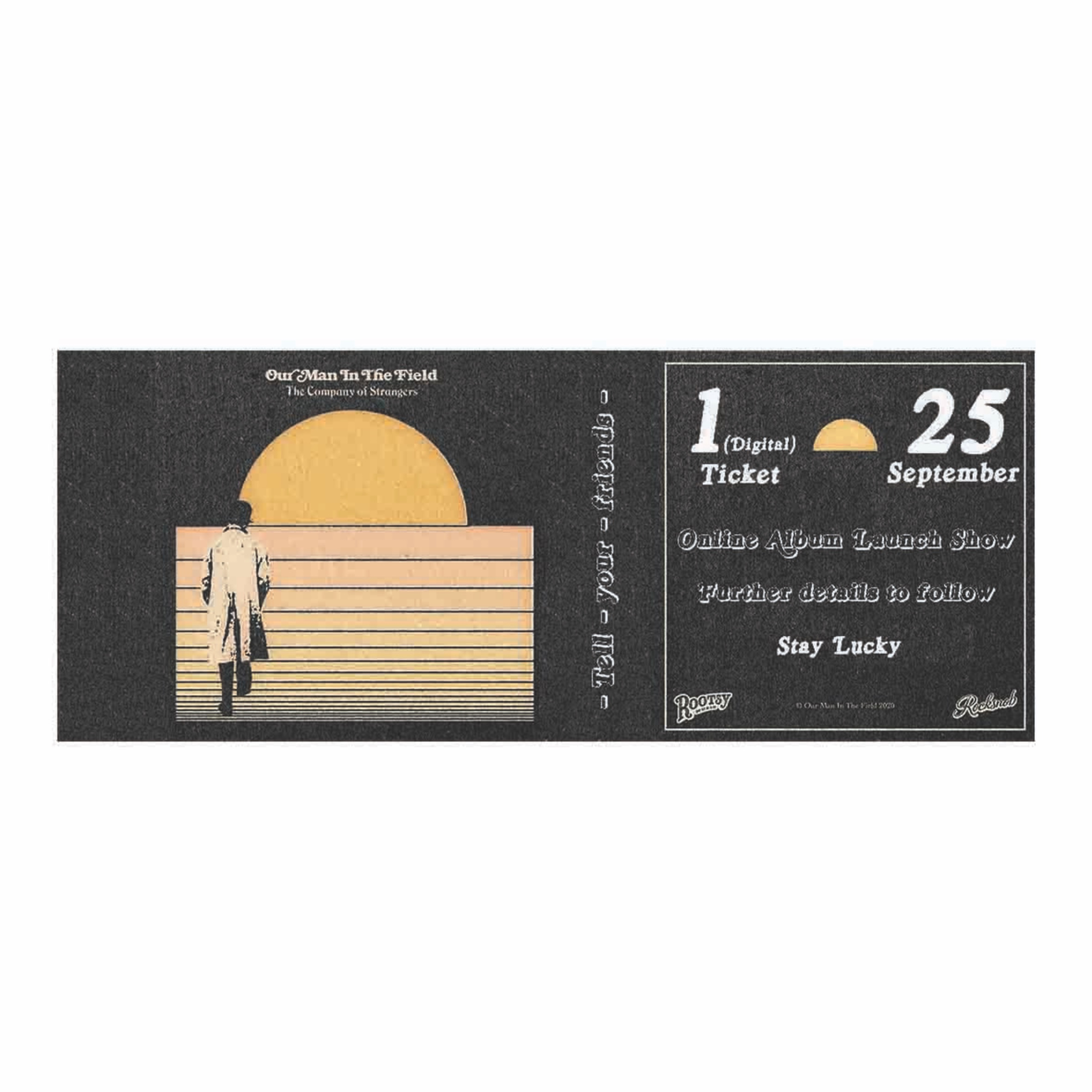 Individual ticket to online album launch show