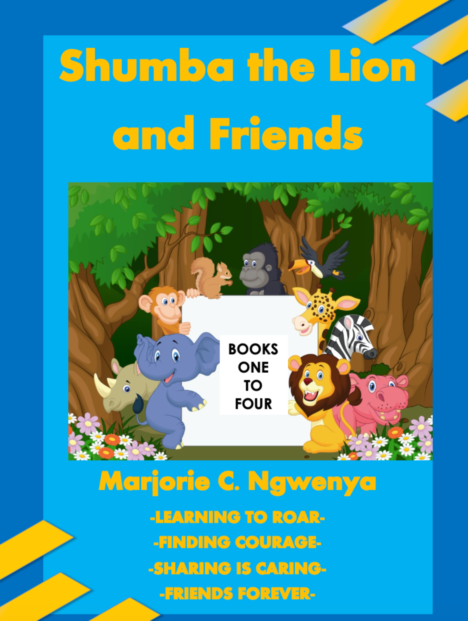 Shumba the Lion and Friends: Books One to Four