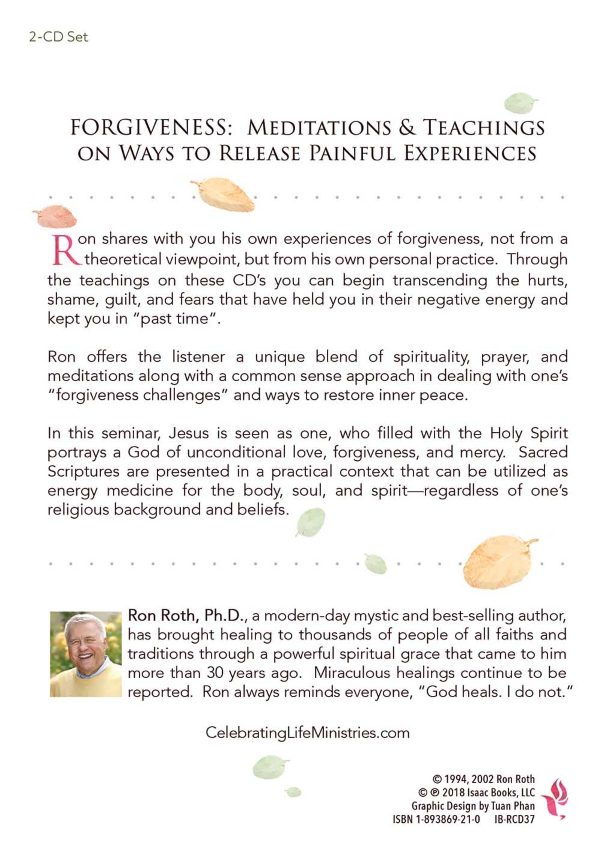 Forgiveness: Meditations & Teachings on Ways to Release Painful Experiences