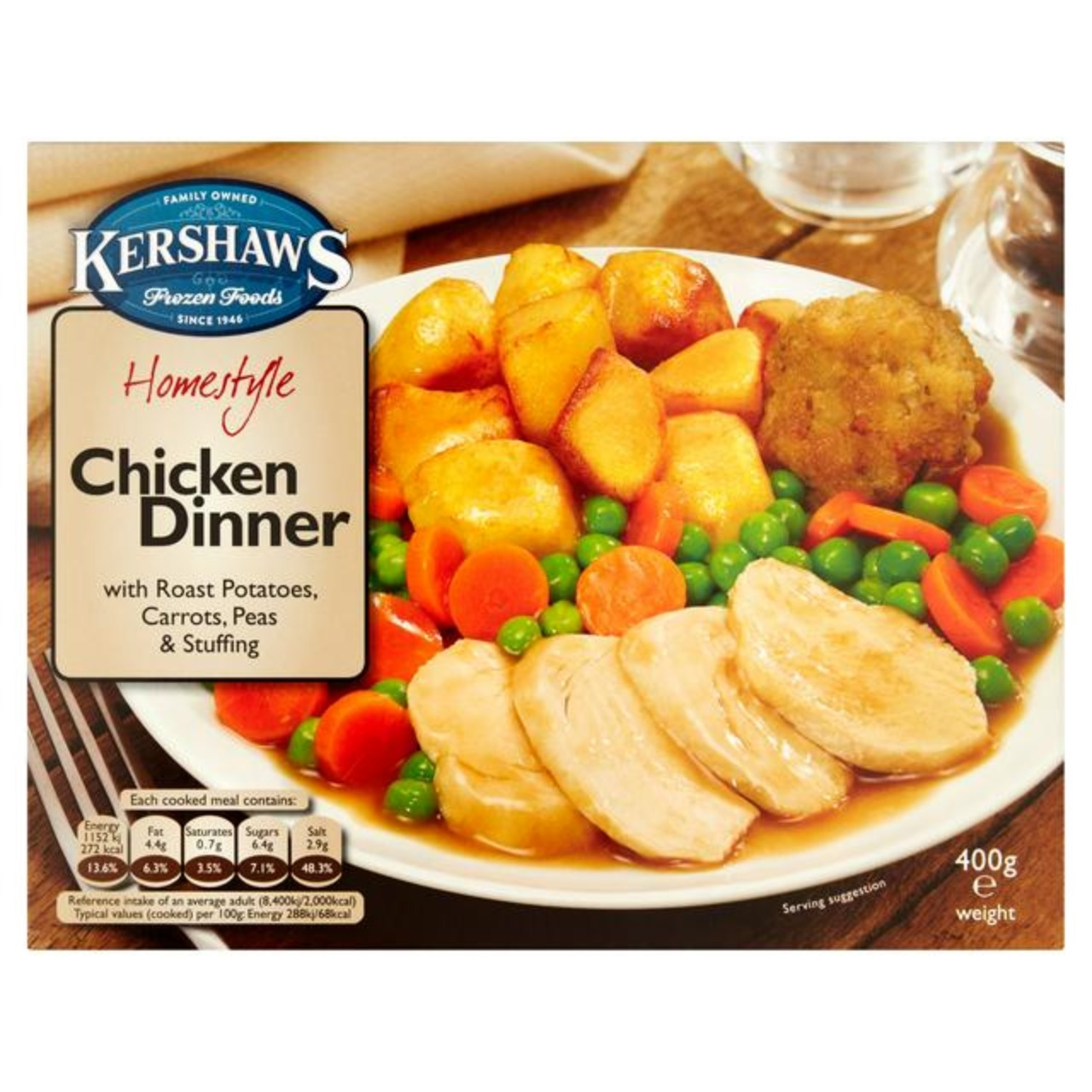 Roast Chicken Dinner 1x400g