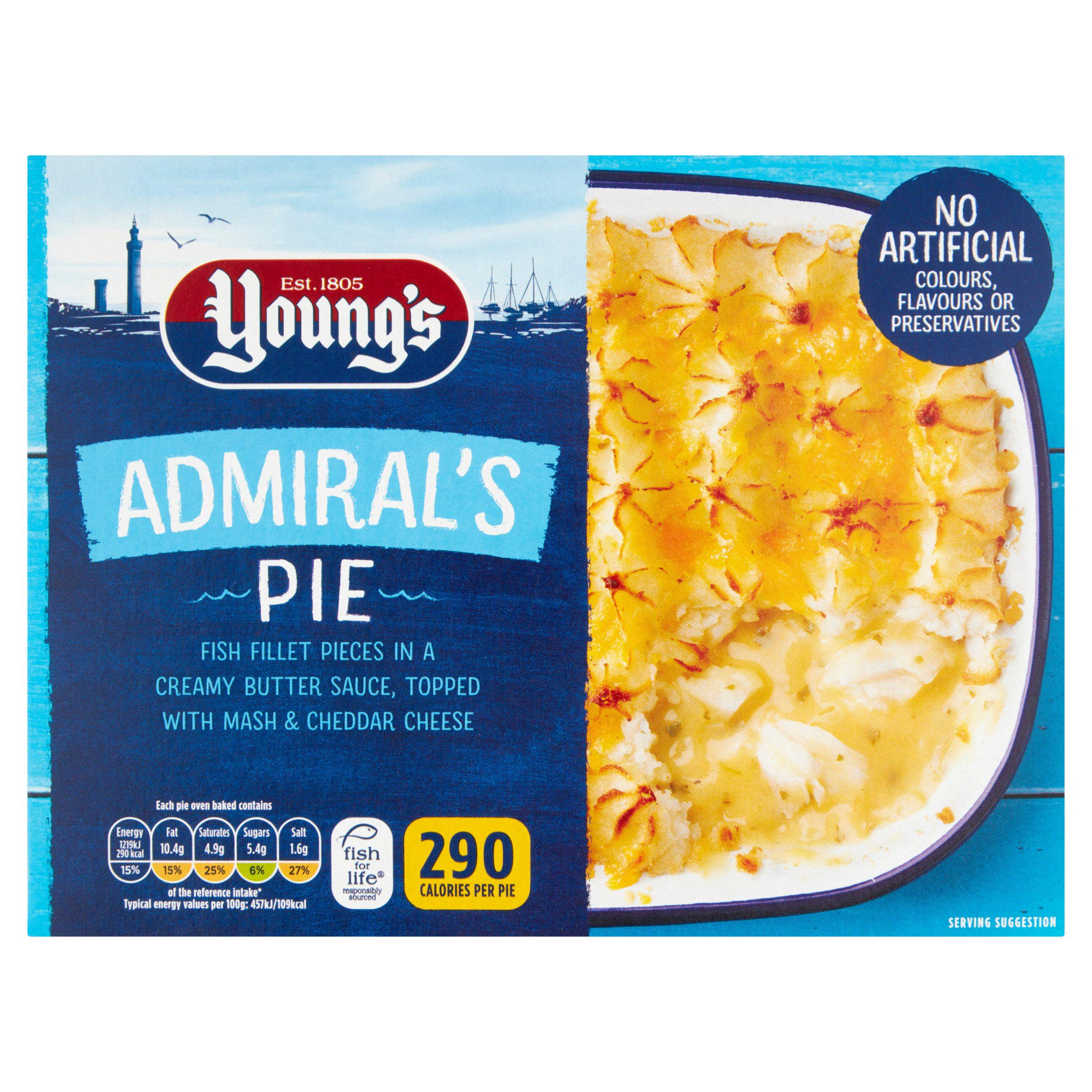 Young's Admiral's Pie 1x300g