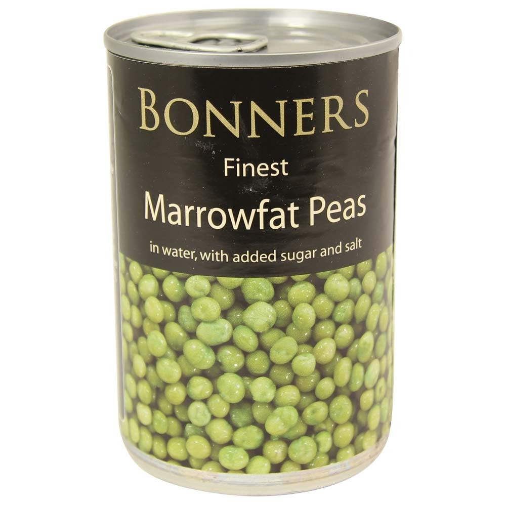 Bonners Marrowfat Processed Peas 300g - 3 Tins for £1