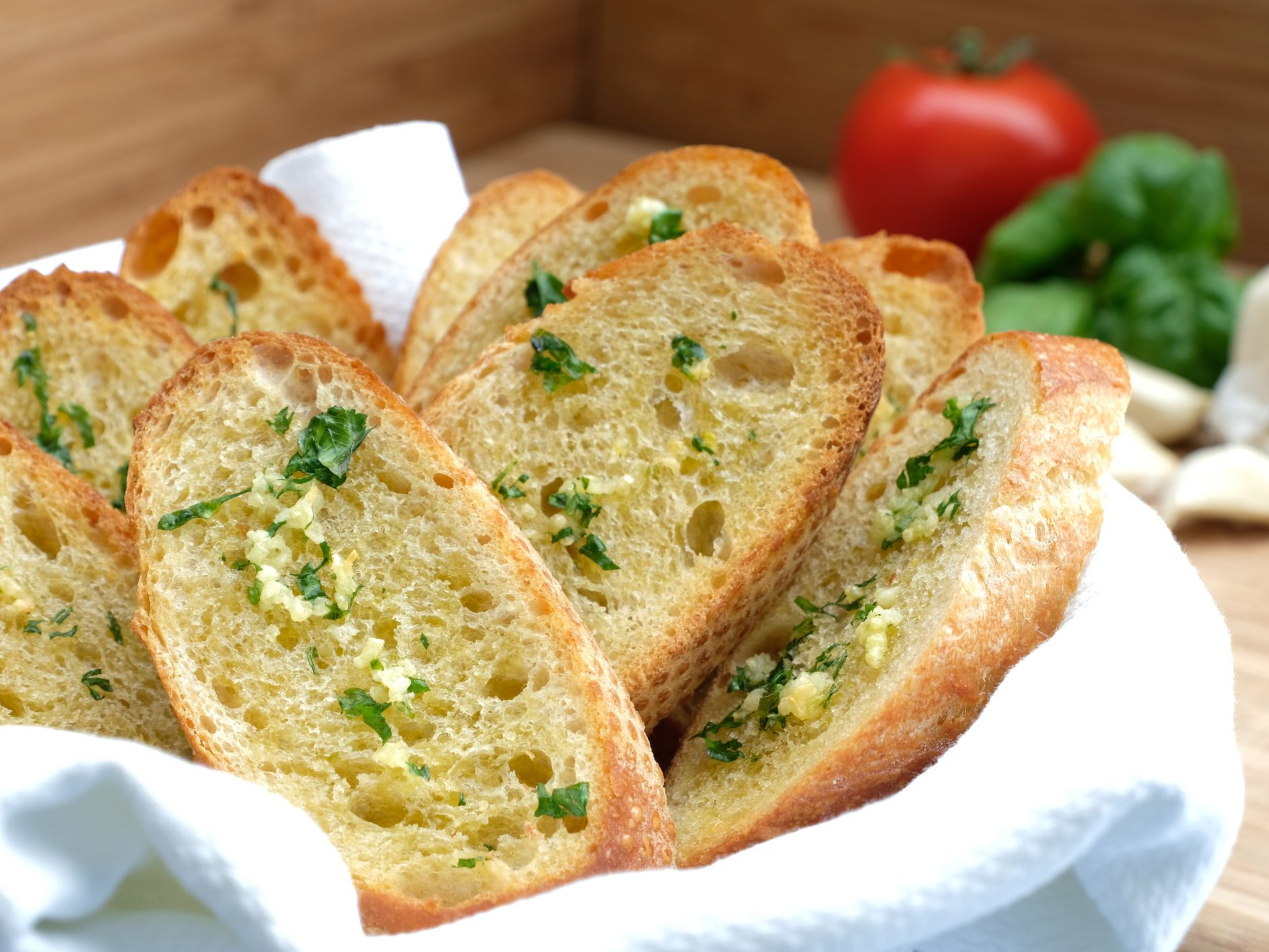 Garlic Bread Slices 1x10