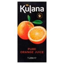 Kulana Fresh Orange Juice 2x1ltr (2 For £1.20)