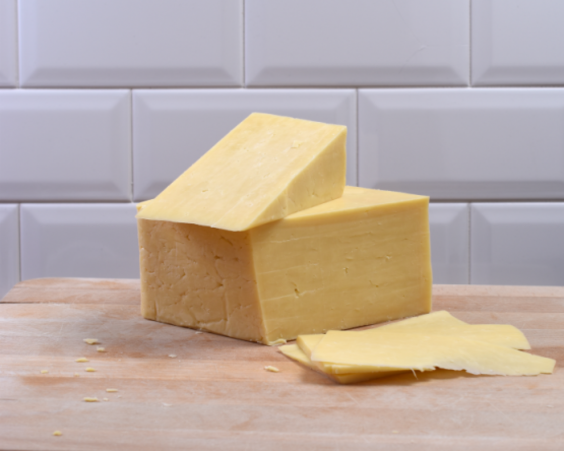Mild White Cheddar Cheese Block - Approx 2.5kg