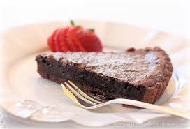 Rich Chocolate Tart Pre Sliced - 12-14 portions