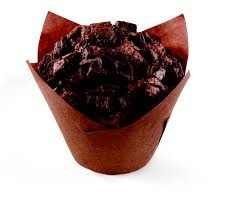 Jumbo Chocolate Muffins Box of 40x130g