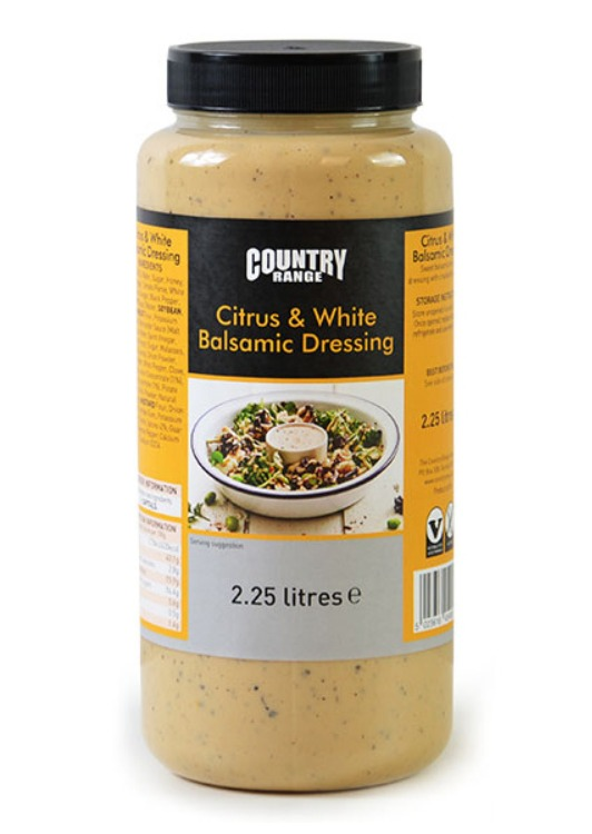 Country Range Citrus & White Balsamic Dressing 2.25 ltr
