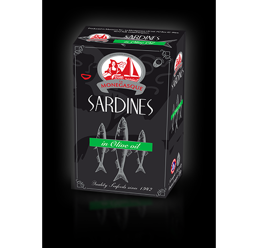Sardines in Olive Oil 125g (2 for £1)