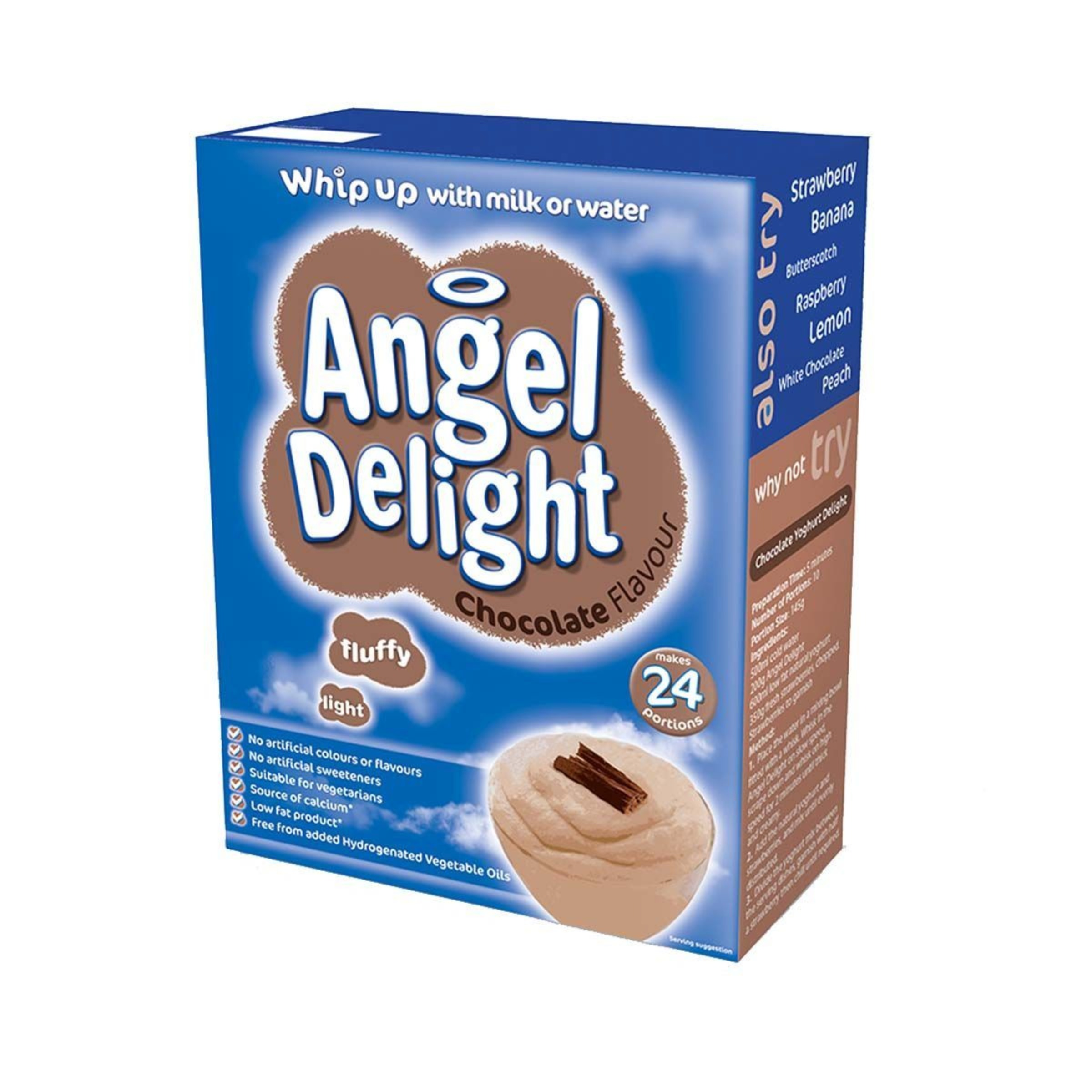 Birds Chocolate Angel Delight 1x600g