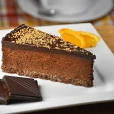 Chocolate Orange Truffle Torte 14 portion (pre-cut)